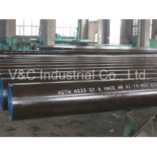 ASTM A333 Gr. 3/Gr. 6 Low Temperature Steel Seamless Pipe