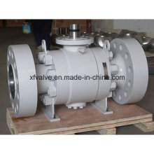 High Pressure Forged Steel A105/F304 Flange End Ball Valve