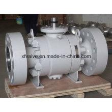 Стальной шаровой кран A105 / F304 с высоким давлением под давлением