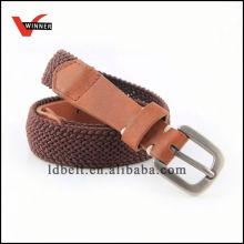 Newest design popular womens casual braided belt