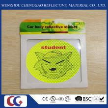 Werbegeschenk Lächeln Gesicht PVC Reflektierende Aufkleber