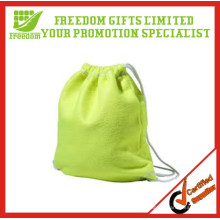 Customized Logo Branded Cotton Drawstring Bag