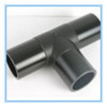 Té équal de garnitures de Plasic pour le tuyau d'approvisionnement en eau