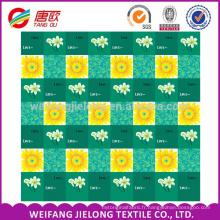 100 Polyester tissu pigment disperser drap de lit microfibre