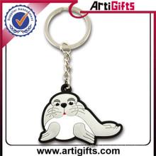 Porte-clés promotionnel en plastique pour animaux