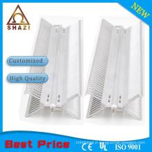 Élément de chauffage convecteur à panneau en aluminium flexible