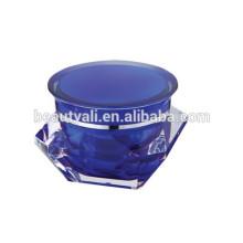 3ml 5ml 10ml 15ml 30ml 50ml Diamond Acrylic Jar PMMA Jar