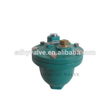 Manual air release valve with cast iron body
