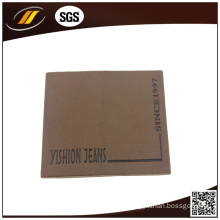 Simple Leather Label for Pants Trousers Suitcase (HJL48)
