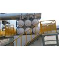 máquina de reciclaje de neumáticos de desecho completamente automática de pirólisis reciclaje de neumáticos de desecho / goma / plástico ABS pp pe y producir gasolina