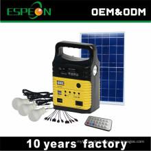 Home Beleuchtung 10W Mini Kit Panel Solarenergie Generator