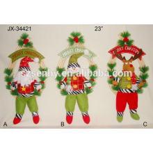 Diverses couleurs Festive Noël Noël exquis Papa Noël