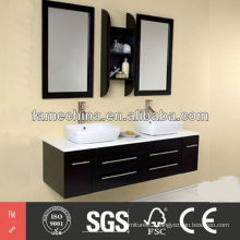 2013 Latest black sink vanity High Gloss black sink vanity