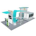 Detian Offer 20x30ft excellent design aluminum exhibition booth for pet food