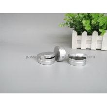 Jarro de creme cosmético de alumínio com tampão de deslizamento (PPC-ATC-022)