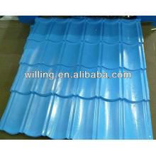 Color coated aluminum ccorrugated tile roof sheet
