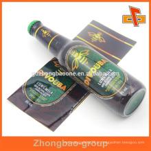 Guangdong manufactory PET encolher banda personalizado design impresso garrafa shrink luva para pacote automático