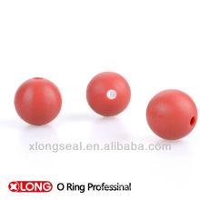 small hard rubber balls