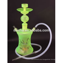 Großhandel Al Fakher Tabak Wasserpfeife Shisha Kunstglas Wasserpfeife mit LED
