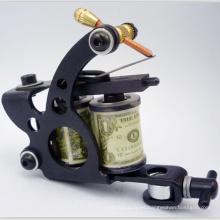 Ventas al por mayor más barata máquina de bobina manual del tatuaje negro para la venta