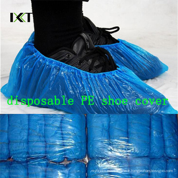 Couverture médicale antidérapante jetable de chaussure de fabrication en plastique non-tissée Kxt-Sc45