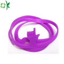 High Quality Hand Shape Silicone Bookmark