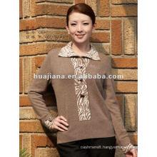 fashionable women's oversized Cashmere sweater
