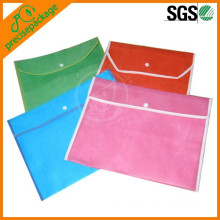 customized advertising cheap non woven document case