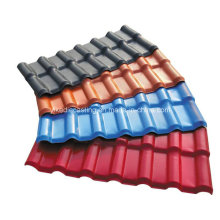 Telha vitrificada japonesa da cor do tijolo revestido de Asa para o telhado