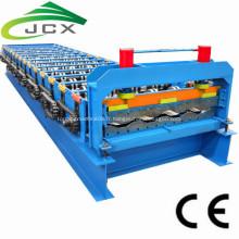 rouleau de panneau de panneau de chariot de récipient formant la machine