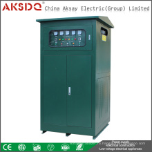 2016 Новый тип промышленности Трехфазный 50Hz 380V SBW Автоматический компенсационный стабилизатор напряжения переменного тока переменного тока WenZhou China