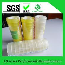 Fita adesiva clara / amarelada dos artigos de papelaria