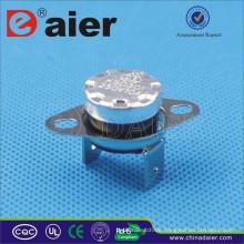 Elektrische KSD301 Thermostat 16A 250 V Biege Pin 50 ~ 180 Grad KSD301-OR2 Schutzschalter Mit Lose Kragen