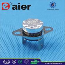 Elétrica KSD301 Termostato 16A 250 V Dobradeira Pin 50 ~ 180 Graus KSD301-OR2 Disjuntor Com Colarinho Solto