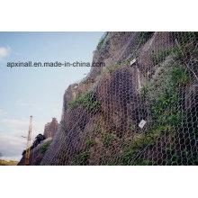 Sistema de proteção contra queda de rochas / proteção contra inclinação ativa