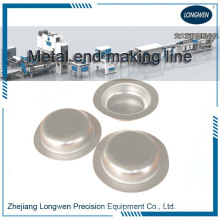 Stainless steel spray aerosol can dome making machine