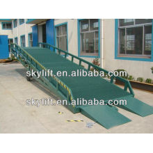 12T Loading yard ramp,container ramp for forklift