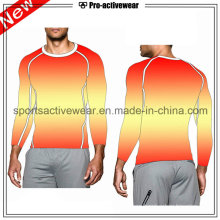 OEM Compression Clothing Sport Running Long Sleeves Men T Shirt