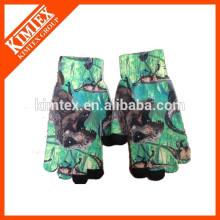 winter polyester sublimation gloves for children