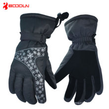 2015 100% Poly Men Outdoor Ski Snowboard Velvet Glove