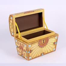 2017 Creative papier emballage boîte en bois design
