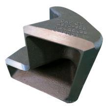 Coulée de précision en acier pour pièces de chemin de fer