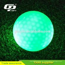 Venta caliente bolas de golf luminons bolas de golf de alta calidad bolas de golf violeta