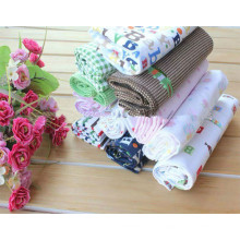 Tela 100% de la franela de la impresión del algodón para la ropa de los niños