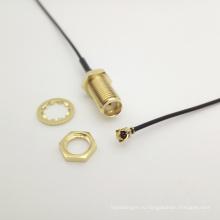 Выставка ipex U. FL к SMA Женский косичка кабель Ассамблеи Кроссовый РФ 130мм долго
