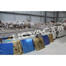 Équipement de revêtement de vide de pulvérisation de Megnetron en céramique / machine de revêtement de pulvérisation cathodique pour la céramique