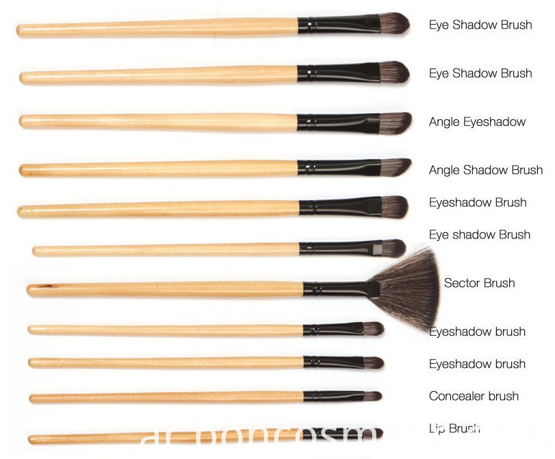 Private Label Makeup Brushes Set