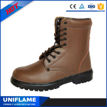 High Quality Fancy Smooth Finished Leather Upper Safety Boots