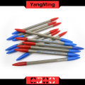 Dedicated Baccarat Pen Red Blue Color (YM-PN01) Casino Table