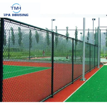 Customize Rodent Proof Basketball Court Chain Link Fence